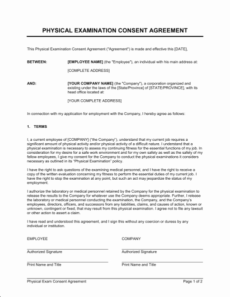 Physical Exam form Template Elegant Physical Exam Template