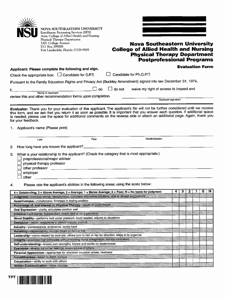 Physical therapy Evaluation Template Unique Physical therapy Evaluation form 2 Free Templates In Pdf