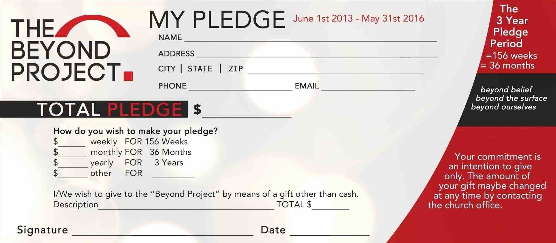 Pledge Card Template Word Lovely Sbar form Template