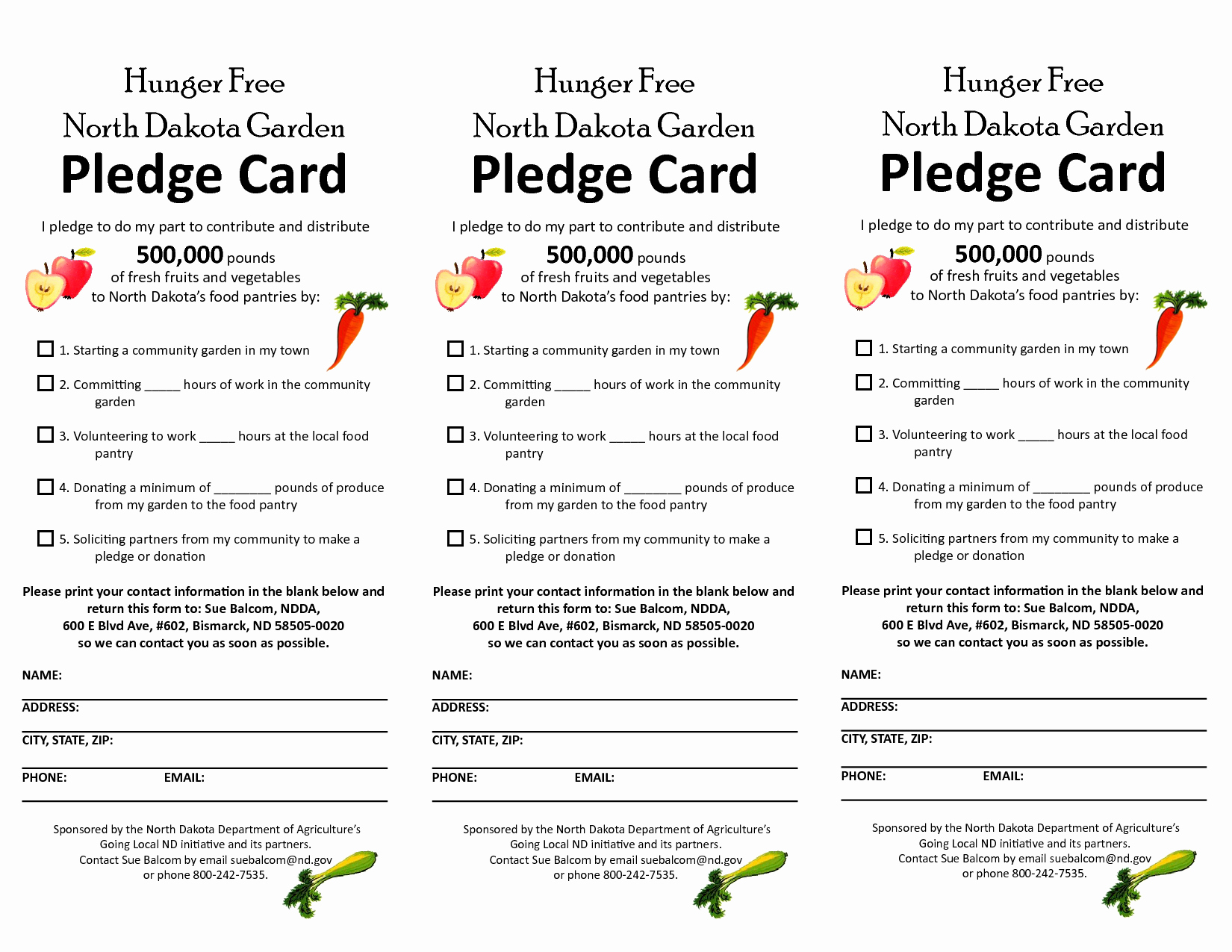 Pledge Card Template Word Luxury Free Pledge Card Template