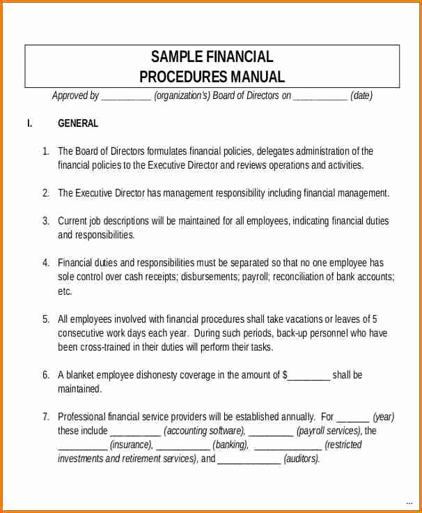Policy and Procedure Templates Best Of 6 Payroll Policy and Procedure Template