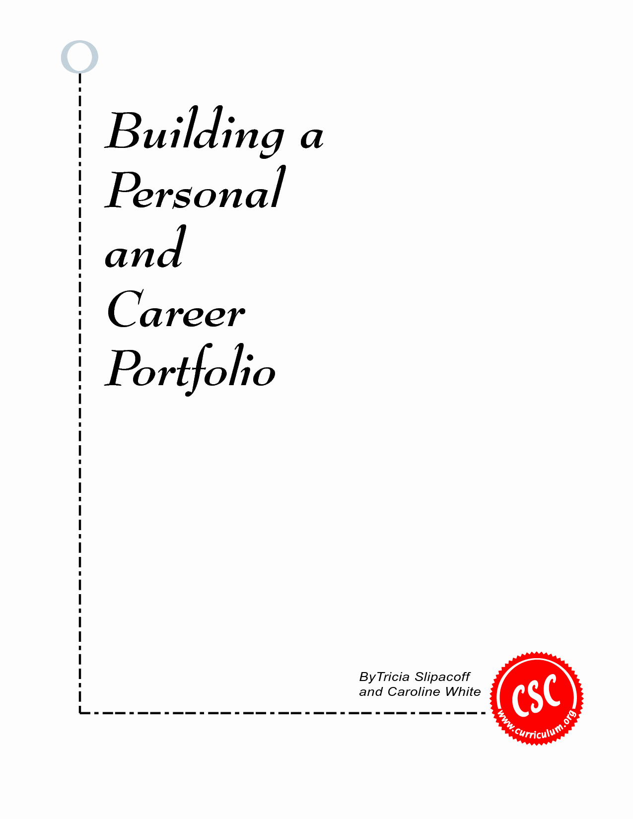 post professional portfolio cover page template