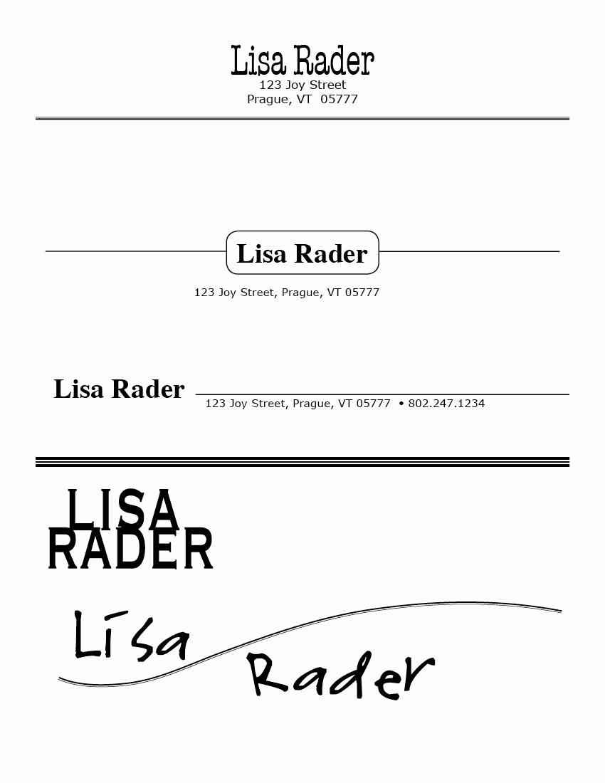 Portfolio Cover Page Templates Awesome Binder Design & Illustration