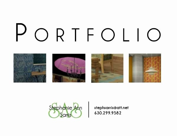 Portfolio Cover Page Templates Beautiful Stephanie Ann Sarris S Portfolio Cover Page Line