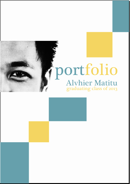 Portfolio Cover Page Templates New Ugly Guy S Blog Portfolio Layouts & Samples