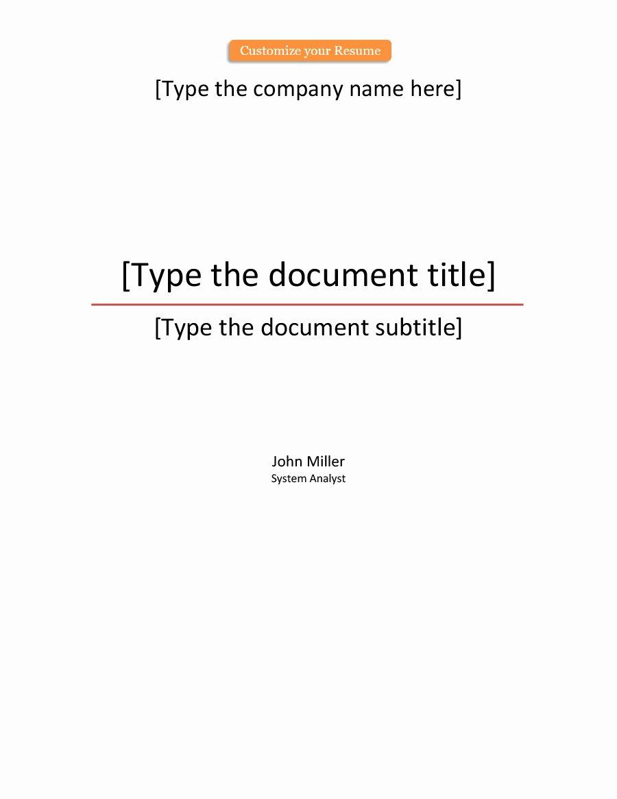 Portfolio Cover Page Templates Unique 39 Amazing Cover Page Templates Word Psd Template Lab