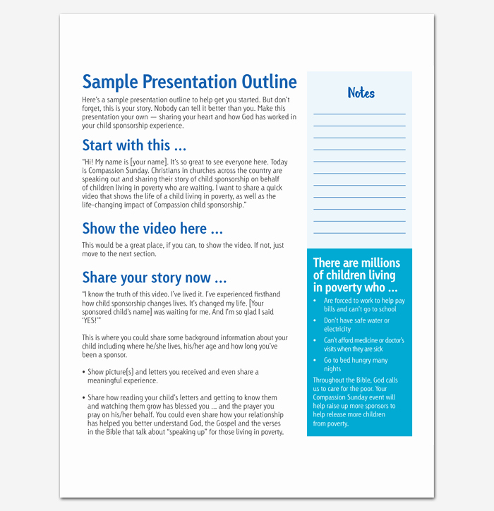 Powerpoint Presentation Outline Template Fresh Presentation Outline Template 19 formats for Ppt Word