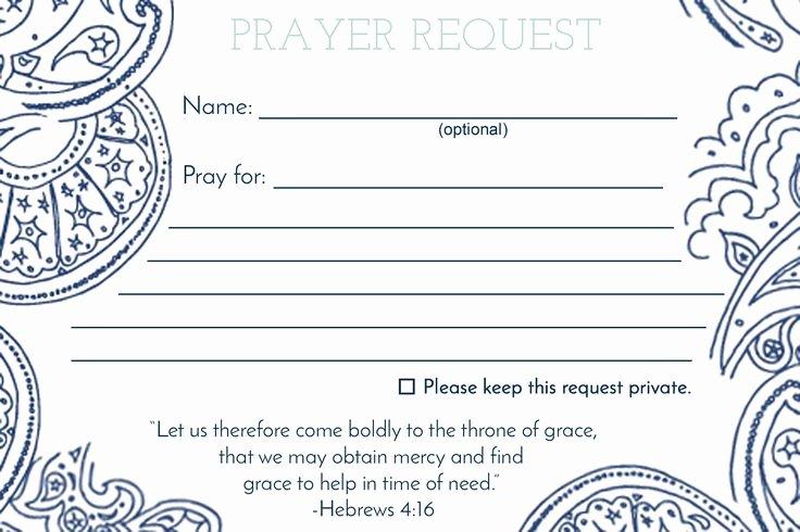 Prayer Request forms Templates Inspirational De 25 Bedste Idéer Inden for Anmodning Bøn På Pinterest