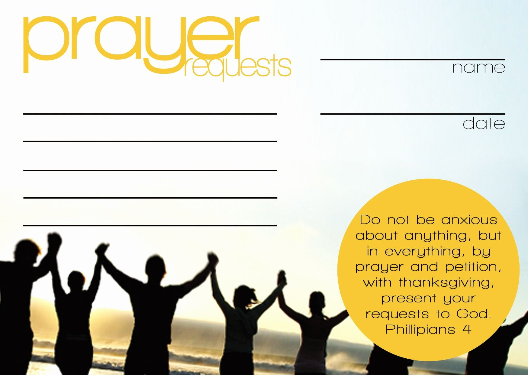 Prayer Request forms Templates Inspirational Prayer Request Cards Templates