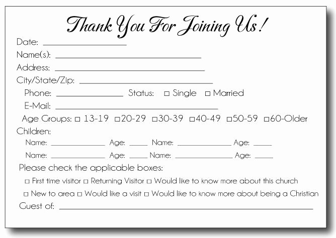 Prayer Request forms Templates New Free Printable Pew Cards Google Search