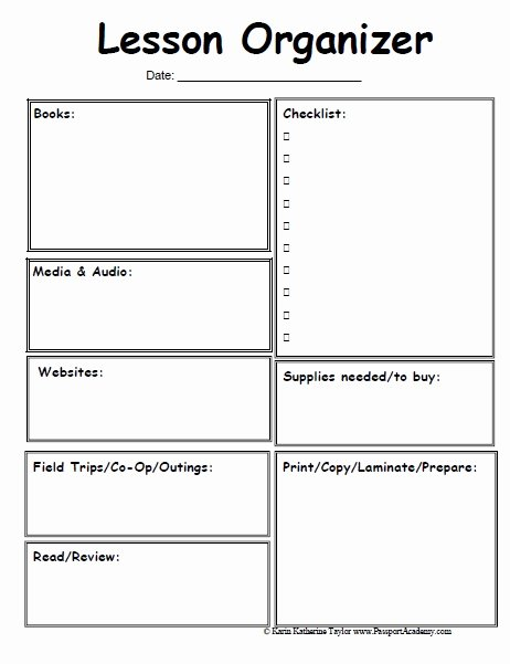 Preschool Daily Lesson Plan Template Best Of Free Preschool Lesson Plan Template Printable