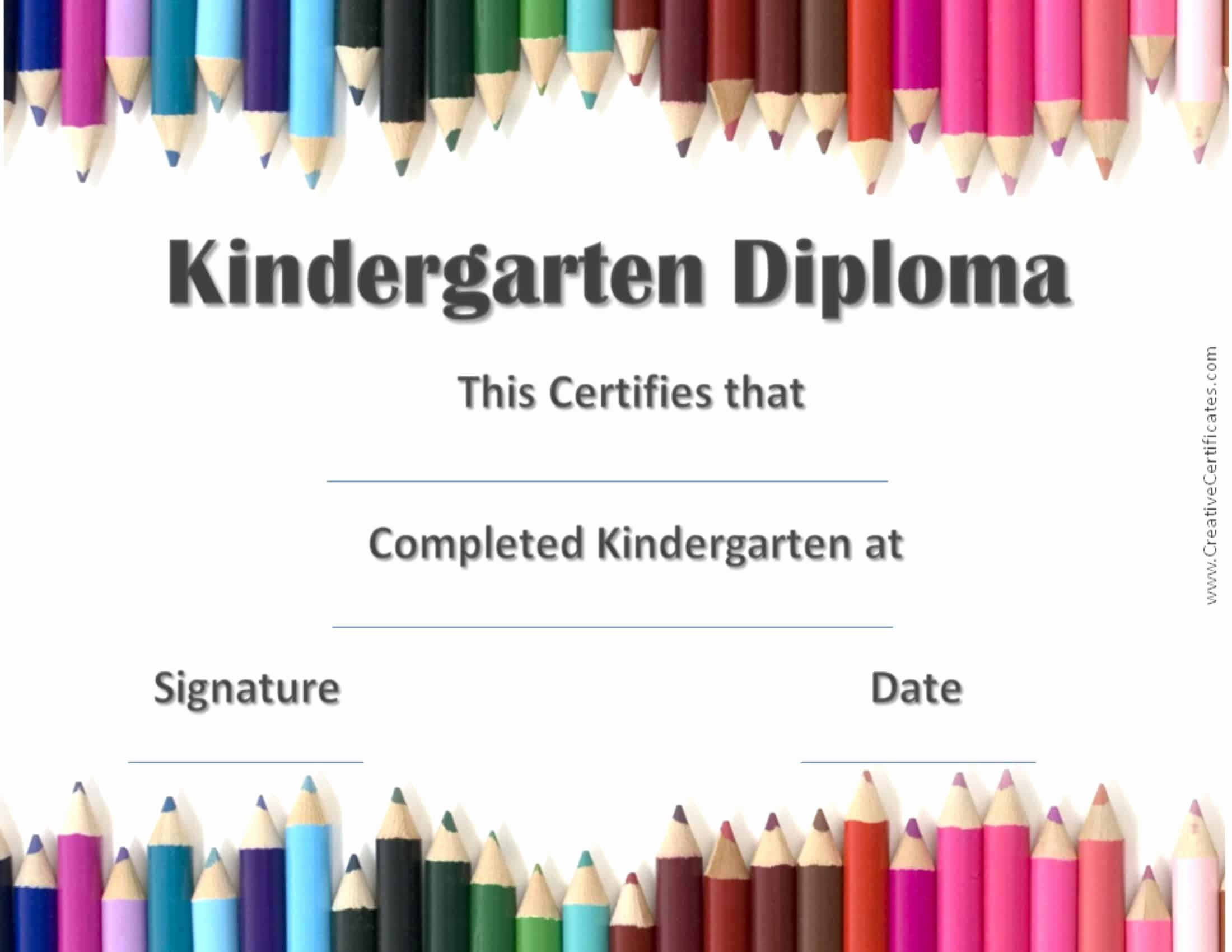Preschool Graduation Program Templates Awesome Free Custom Kindergarten Graduation Certificates