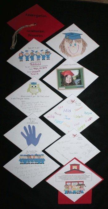 Preschool Graduation Program Templates Luxury Kindergarten or Preschool Graduation Memory Book