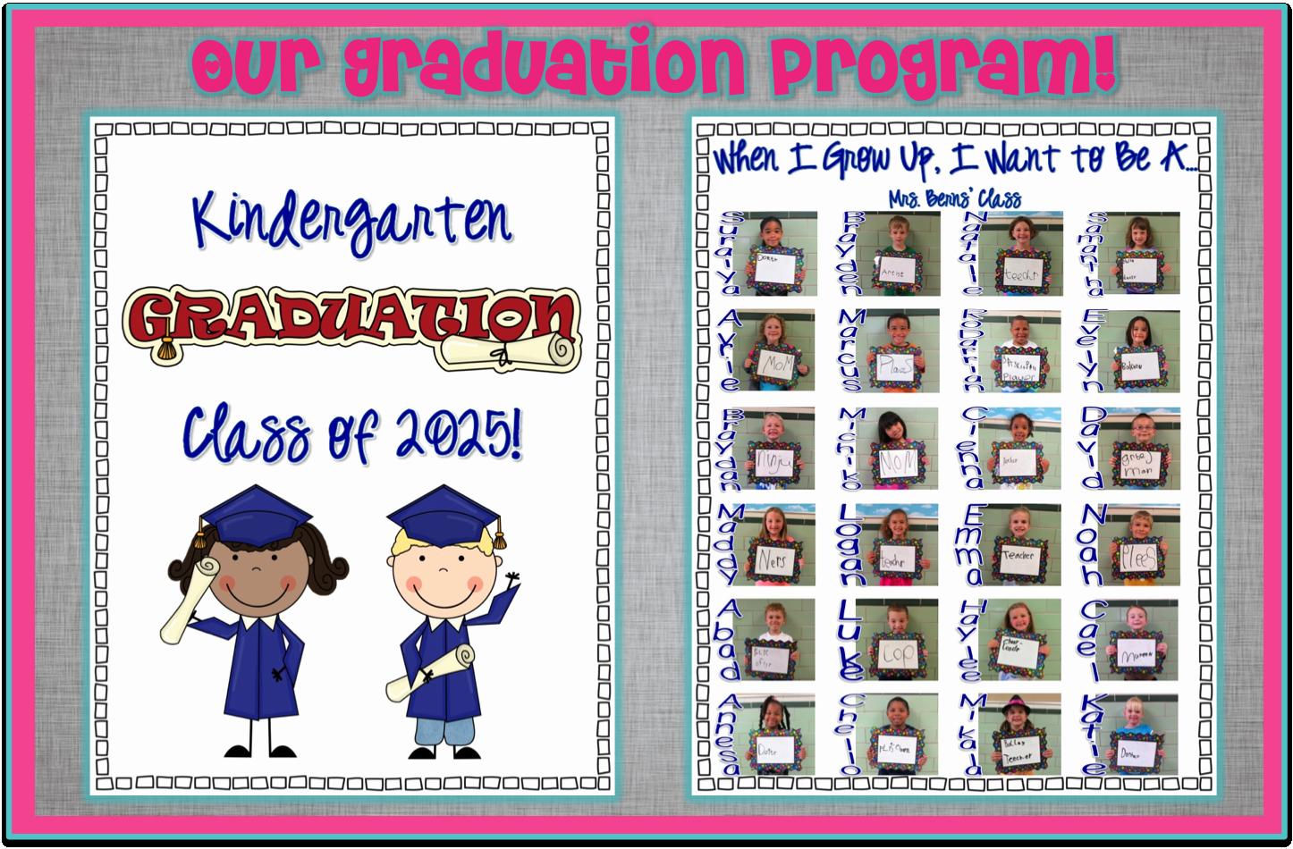 Preschool Graduation Programs Template Awesome Preschool Graduation Program Sample Google Search