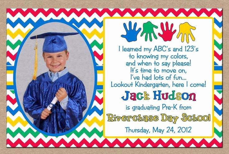Preschool Graduation Programs Template Inspirational Free Printable Kindergarten Graduation Announcements Free