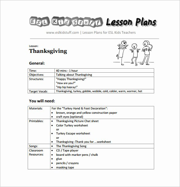 Preschool Lesson Plan Template Pdf Luxury Preschool Curriculum Pdf