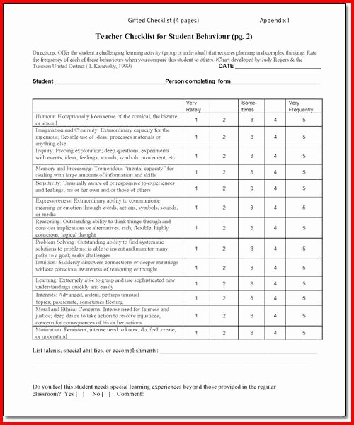 Preschool Teacher Observation form Template Best Of 28 Of Classroom forms Template