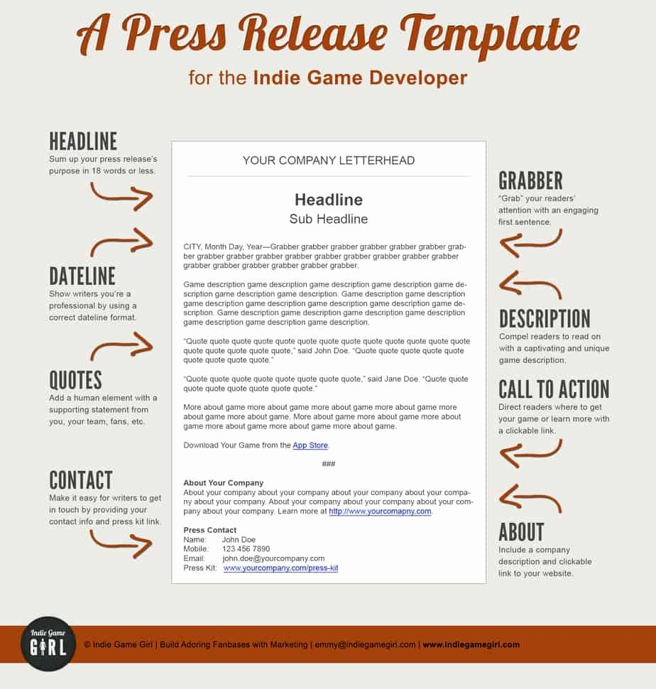 Press Release Template Doc Inspirational 6 Press Release Templates Excel Pdf formats