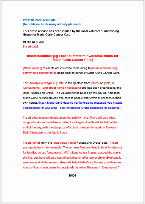 Press Release Template Word Awesome Press Release Template 15 Free Samples Ms Word Docs
