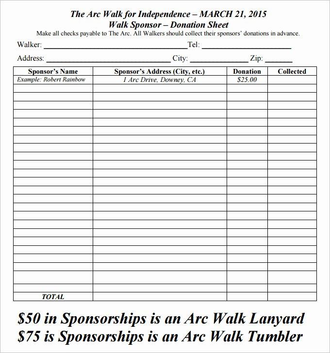 Printable Donation form Template Unique 10 Donation form Download [word Excel Pdf] 2019