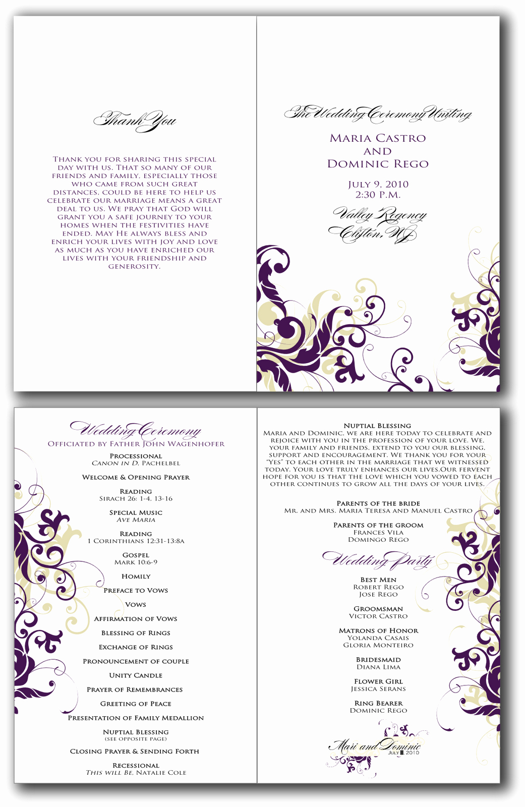 Printable event Program Template Inspirational 7 Best Of Free Printable Birthday Program Templates