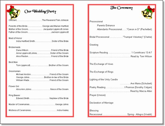 Printable event Program Template Luxury Church Program Template