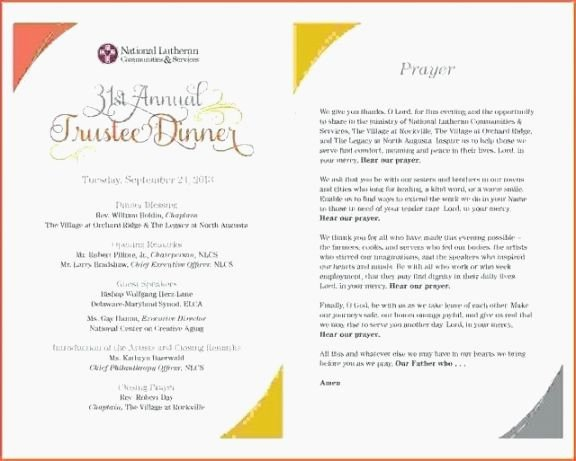 Printable event Program Template Unique Impeccable Printable event Program Template