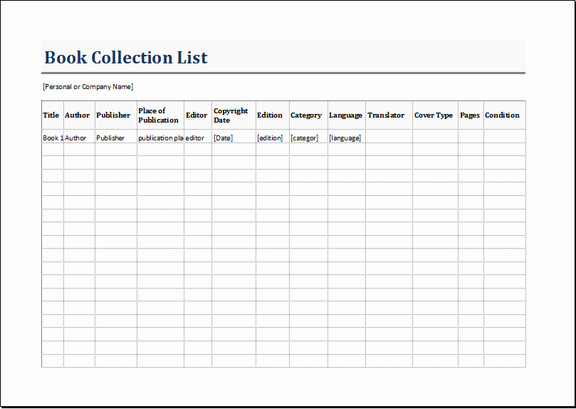 Printable Inventory List Template Best Of 10 Inventory List Templates