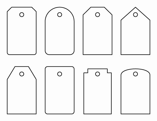 Printable Luggage Tags Template Lovely 12 Useful Luggage Tag Templates for You