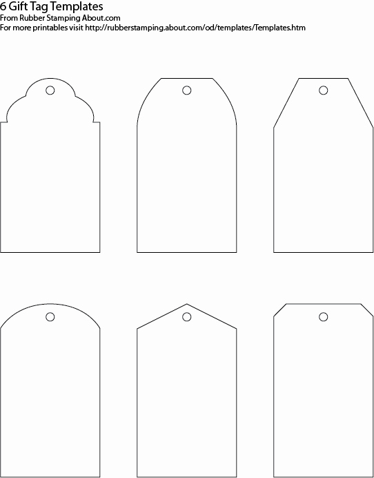 Printable Luggage Tags Template New Gift Tag Templates On Pinterest