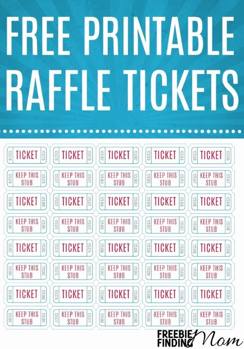 Printable Raffle Tickets Template Beautiful Best 25 Printable Raffle Tickets Ideas On Pinterest