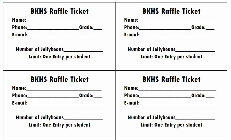 Printable Raffle Tickets Template Best Of 40 Free Editable Raffle & Movie Ticket Templates