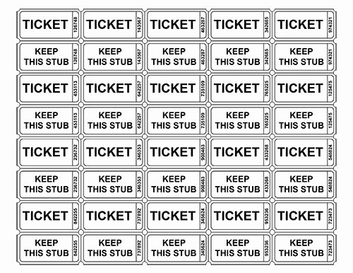 Printable Raffle Tickets Template Lovely Best 25 Printable Raffle Tickets Ideas On Pinterest