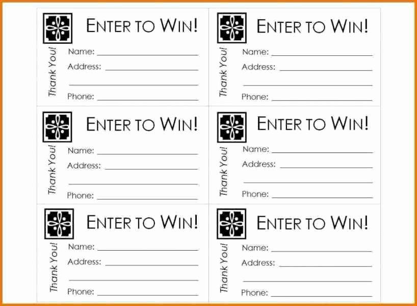 Printable Raffle Tickets Template Lovely Ticket Template for Microsoft Word some Great Resources