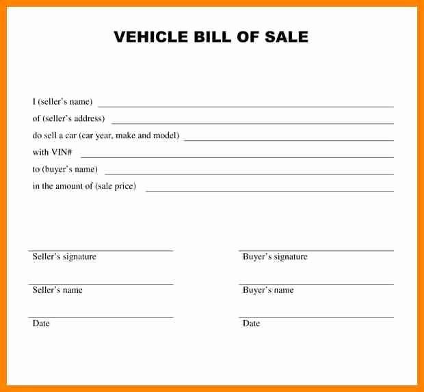 Private Car Sale Contract Template Elegant 28 Basic Car Sale Agreement Word Doc Au O