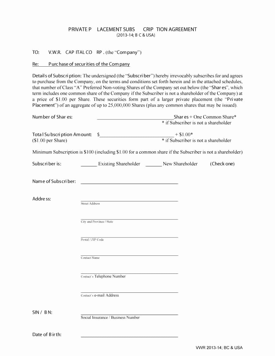 Private Placement Memorandum Template Awesome 40 Private Placement Memorandum Templates [word Pdf]