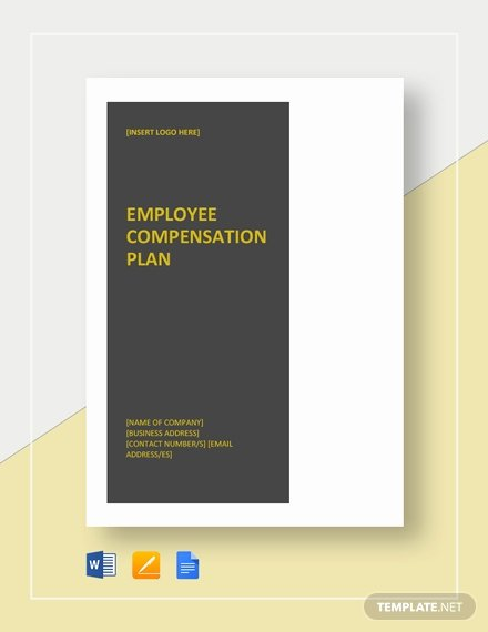 Professional Compensation Plan Template Awesome Employee Pensation Plan Template Download 716 Plans
