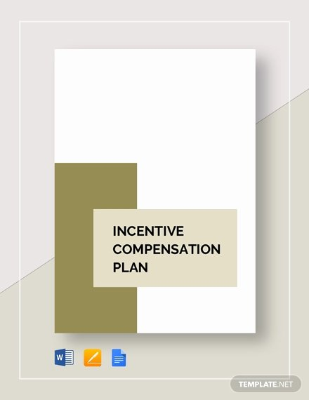 Professional Compensation Plan Template Awesome Incentive Pensation Plan Template Word