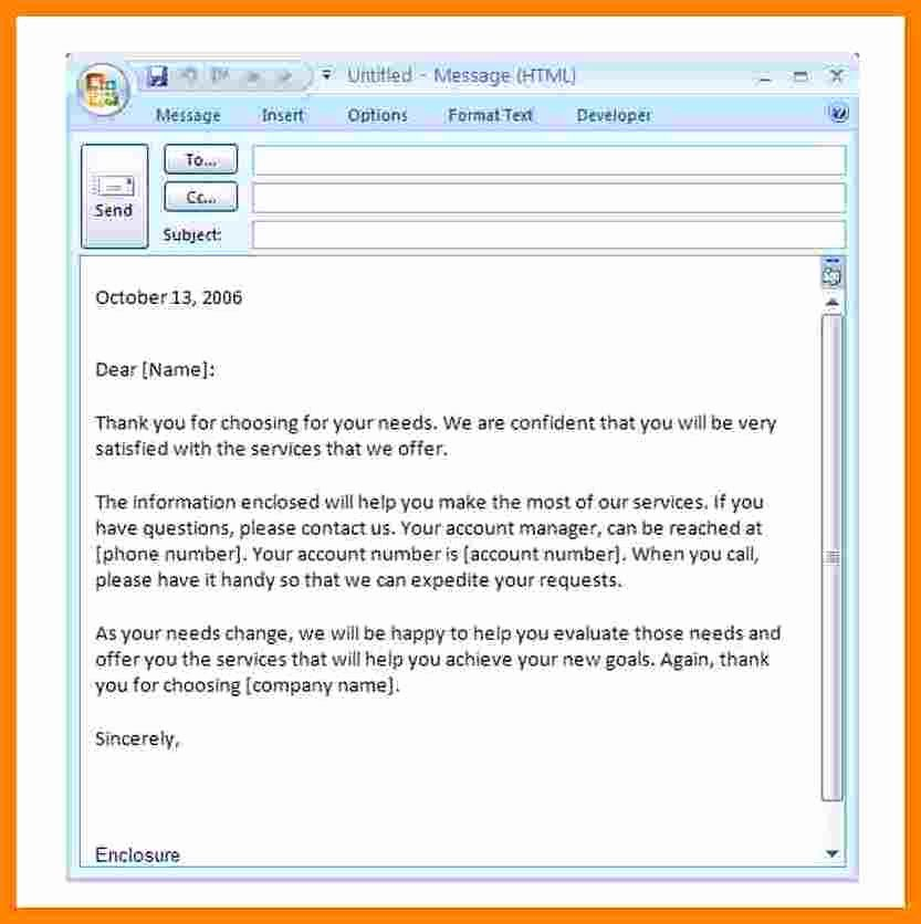 Professional E Mail Template Beautiful 3 Professional Email Introduction