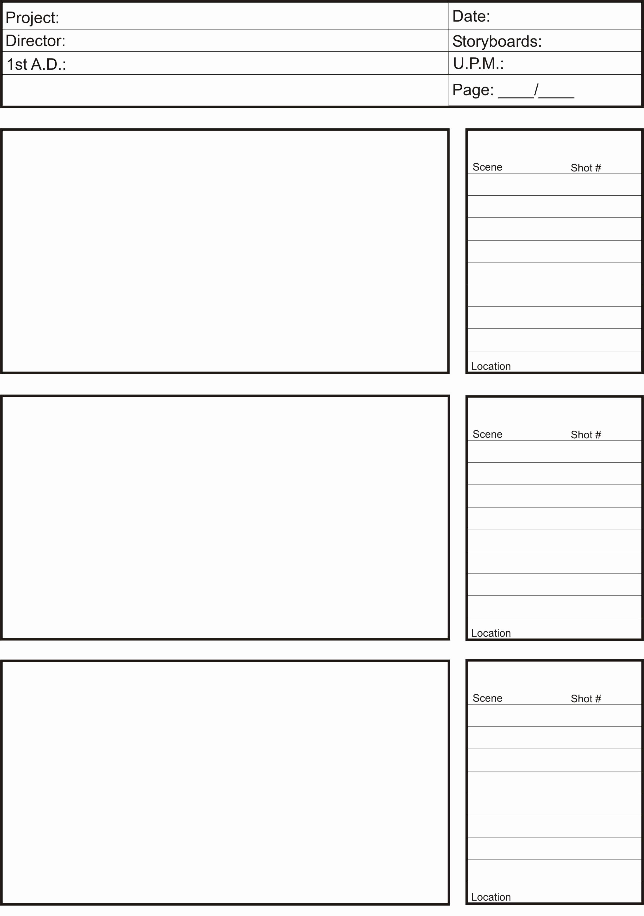 Professional Film Storyboard Template Awesome Animation Storyboard Template Google Search