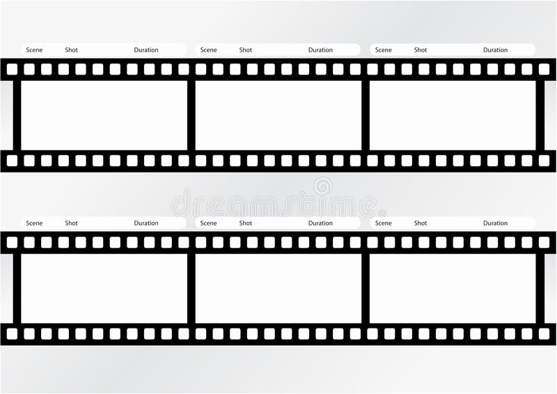Professional Film Storyboard Template Awesome Professional Storyboard Strip Template Stock
