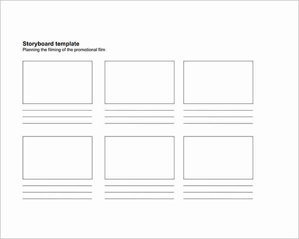 Professional Film Storyboard Template Awesome Storyboard Sample Image