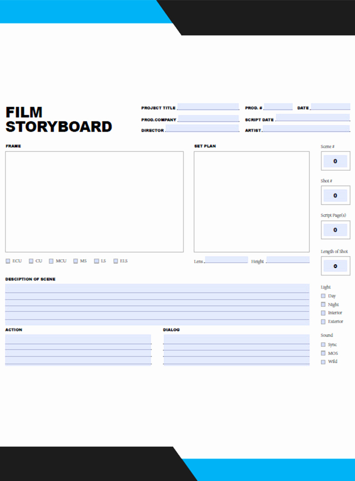 Professional Film Storyboard Template Best Of Storyboard Template
