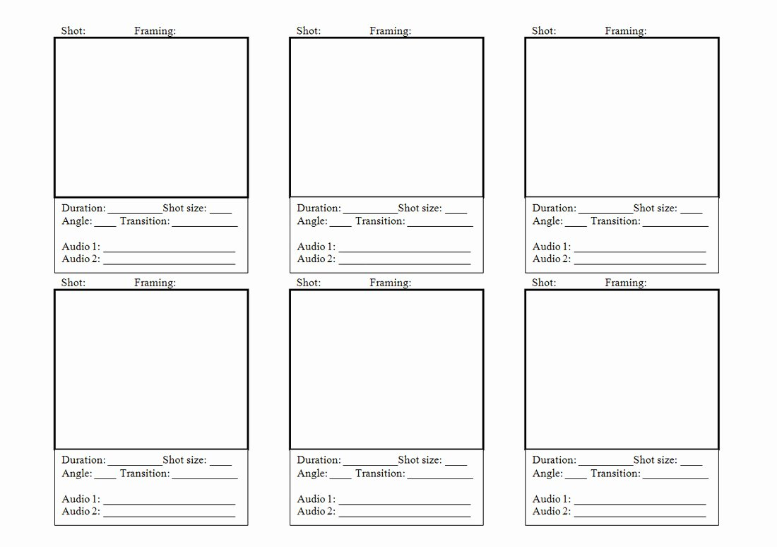 intro to story boarding