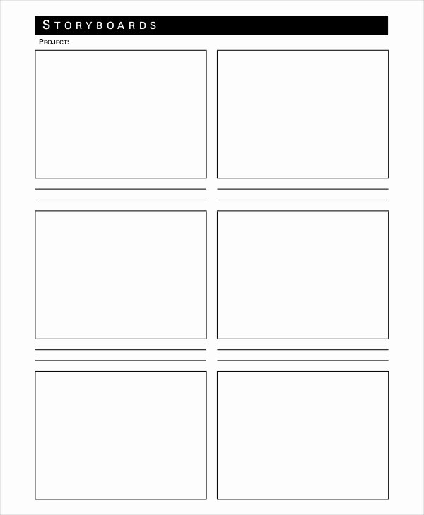 Professional Film Storyboard Template Inspirational 20 Storyboard Templates