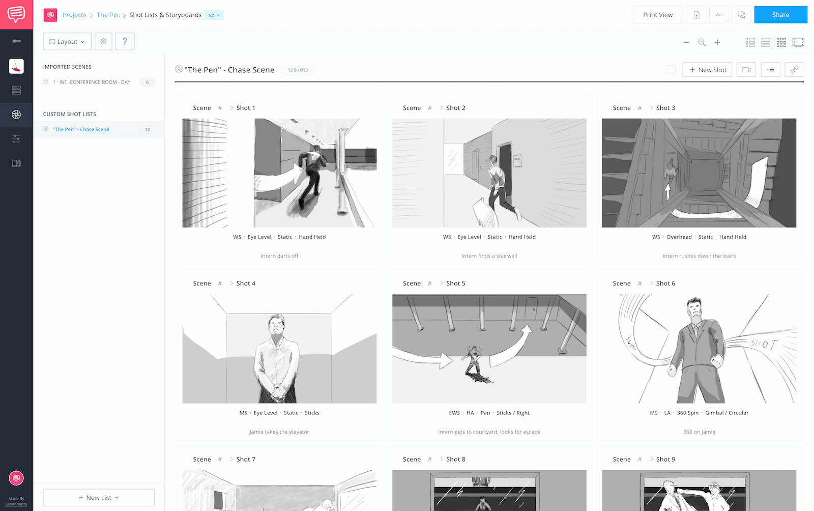 Professional Film Storyboard Template Lovely 60 Free Storyboard Templates & Creator Pdf Psd Ppt Docx