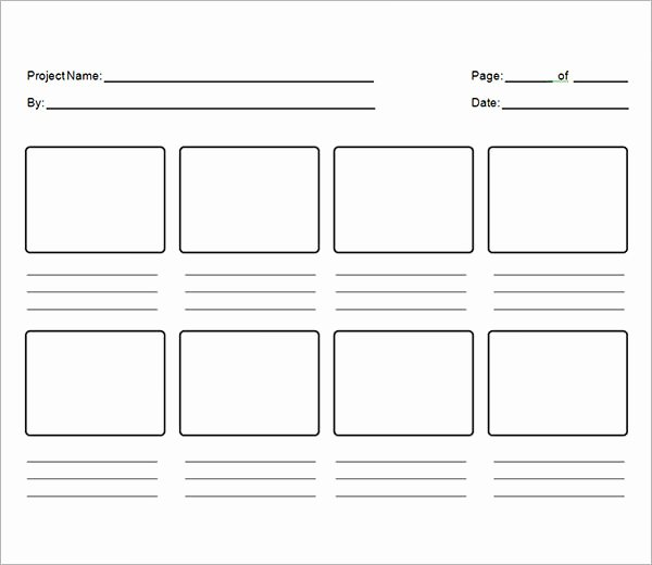 Professional Film Storyboard Template Unique Download Free Storyboard Template Tutorials In