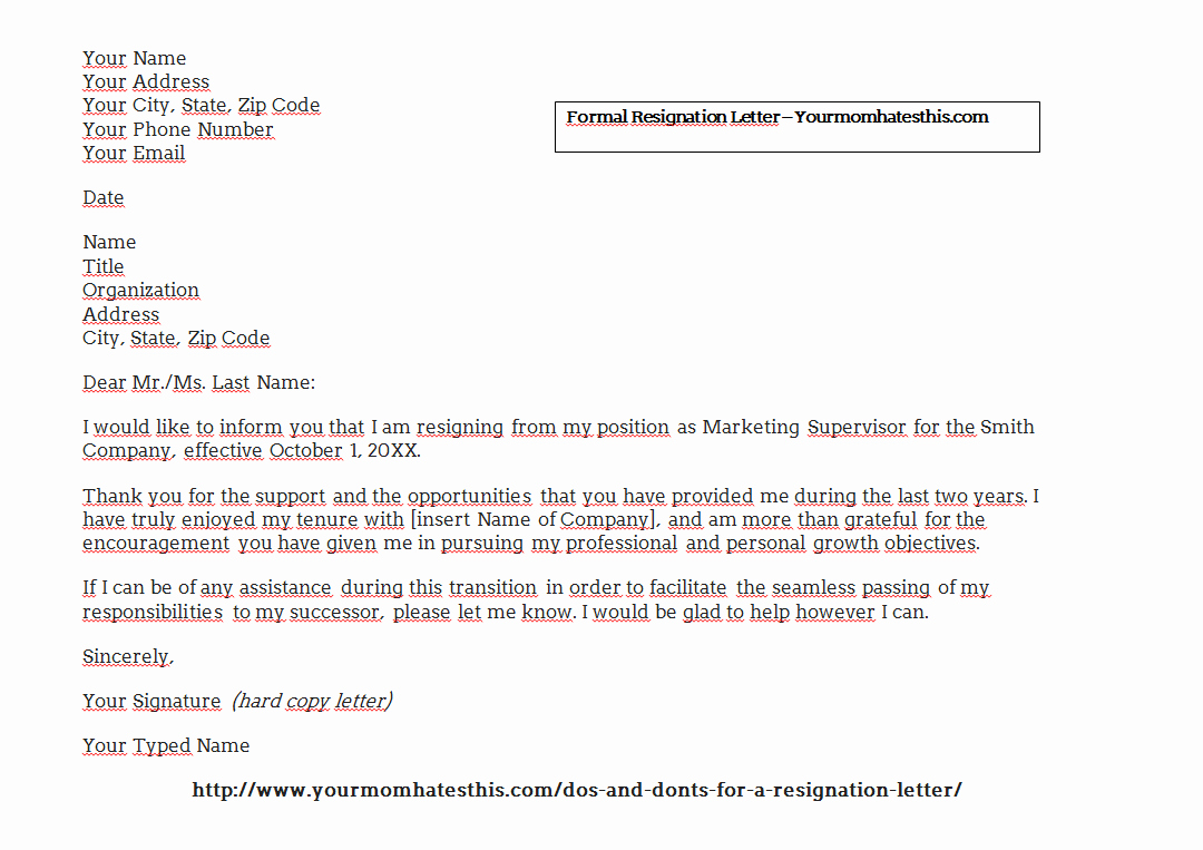 Professional Resignation Letter Template Fresh Download Resignation Letters Pdf & Doc