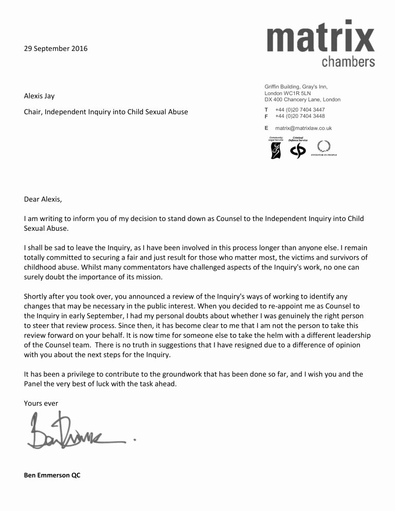 Professional Resignation Letter Template Unique Polite Resignation Letter format