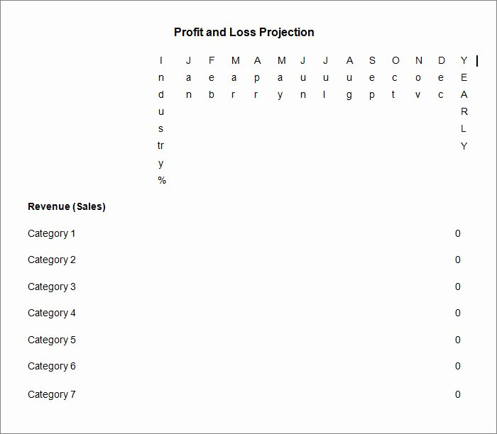 Profit and Loss Template Word Fresh 11 Profit and Loss Statements Word Pdf Google Docs
